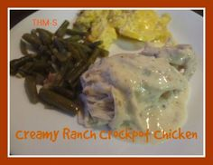 Repin this recipe for later! Before joining Trim Healthy Mama, I had this really easy go-to chicken recipe that I could put in the crockpot. The only thing is it uses cream of chicken soup which has some iffy ingredients in it. But it turns out it's pretty easy to alter the recipe without taking …