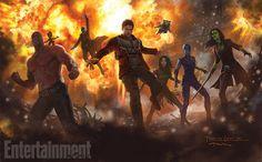 Guardians of the Galaxy Vol. 2: Meet new alien Mantis in sequel concept art