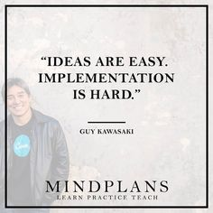 Ideas are easy. Implementation is hard. - Guy Kawasaki  #startup #ideas #webdesign #success #successful #successfully #GuyKawasaki #hardworkpaysoff #hardwork #grind #millionaires #hustle #lifestyle #happiness #entrepreneur #entrepreneurs #entrepreneurship #entrepreneurlife #business #businessman #quoteoftheday #businessowner #businesswoman #goals