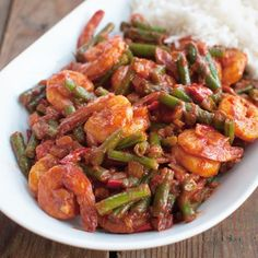 Recipe: Surinamese shrimp with garter Savory Sweets - Air Fryer Recipes Fish Recipes, Asian Recipes, Healthy Recipes, Ethnic Recipes, Oven Dishes, Fish Dishes, Suriname Food, Food Porn, Saveur