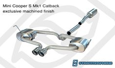 WMW Stratmosphere Catback Exhaust R53 Hardtop. Solid mod for my r53. Immediate difference in acceleration and power