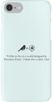 All the bright places quote iPhone 7 Cases