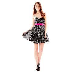 Pearl Georgina Chapman of Marchesa Chiffon Print Dress ($70) ❤ liked on Polyvore