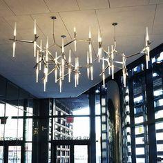 Hongkong Italy Roll&Hill Agnes bazaar herringbone tree chandelier chandelier…