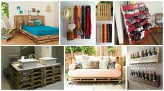 Old wooden pallets are not a waste timber because there is always a possibility to recycle and reuse them and to create from storing items, beds or coffee tables to outdoor pallet decking, garden walkway, or many other items that will beautify your home and make it unique.