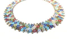 Beading Tutorial  31 Morocco Collar Bead Pattern Seed