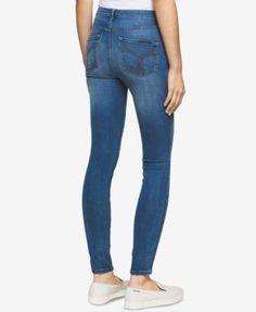 Calvin Klein Jeans Stretch Sculpted Skinny Jeans - Black 33
