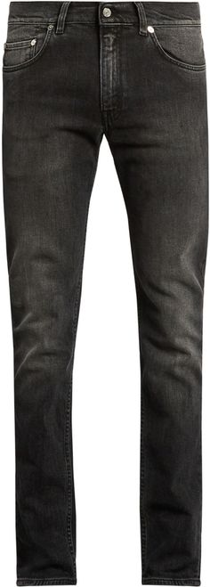 ACNE STUDIOS Ace Phantom skinny jeans Slim Man, Acne Studios, Black Denim, Skinny Jeans, Stylish, Pants, Men, Tops, Fashion