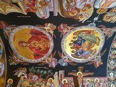 Byzantine Icons, Orthodox Icons, Romania, Catholic, Scene, Cathedrals, Sacred Art, Heavens