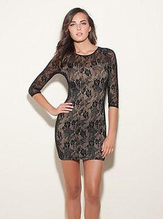 c9062cf4ed Vera Lace Dress (Jet Black Multi). Guess. $89.00 Grad Dresses, Homecoming