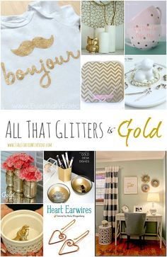 Decorating and Accessorizing with Gold