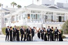 A Classic White Wedding at Shutters on the Beach in Santa Monica, California Wedding Spot, Cute Wedding Ideas, Free Wedding, Formal Wedding, Black Tie Formal, Bridal Suite, Dream Wedding Dresses, Santa Monica, Wedding Venues