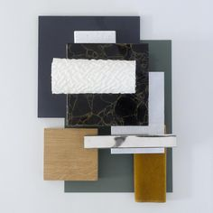 Material moodboard by Studio David Thulstrup - Oak by Dinesen
