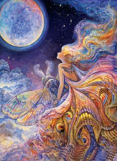 Josephine Wall Oil Painting | Josephine Wall 1947 | British Mystical Fantasy painter | Tutt'Art ...