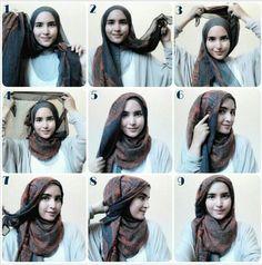 Sweet! #stepbystep #hijabtutorial
