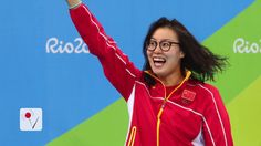 After finishing fourth in the 4×100-meter medley relay, Chinese swimmer Fu Yuanhui appeared to be doubled over, clutching her stomach. (function() { var…  #Athlete #Sports #Athletic #Olympics #Rio #RioOlympics #Rio2016 #Swimming #Gymnastics #Track #Soccer #Football #Basketball