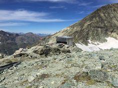 Tracuit Hut, Zinal, Switzerland