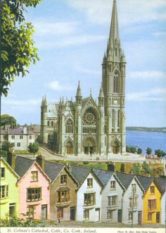 Ireland, County Cork, Cobh, St Colman's Cathedral.