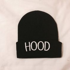 5 Seconds of Summer Calum Hood Hood beanie. Perfect for any 5sos fan. Love this beanie! So want this, so much!!!