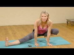 3 Yoga poses to Open the Inner Thighs - YouTube