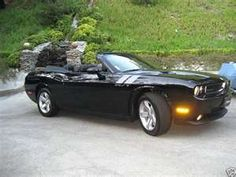 Convertible Dodge Challenger.   Momma likes!