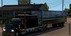 Kenworth W900 Truck mod - American Truck Simulator mod   ATS mod