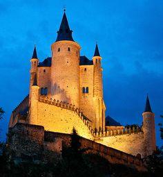 El Alcazar de Segovia  #Segovia #Spain