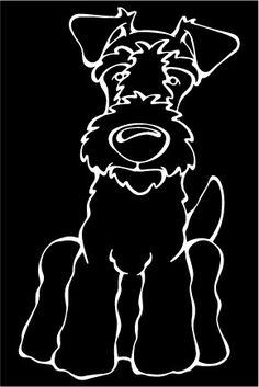 Do you love your Lakeland Terrier? Then a dog decal from Decal Dogs is what you need to celebrate your best friend. Every Dog Has Its Decal! The decal measures 4 in. x 6 in. and can be applied to most