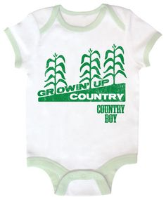 Country Boy Baby Onesie