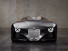 >>> BMW 328 Hommage Car >>> Considered one of the most beautiful and successful sports cars of the 1930s, BMW pays tribute to the 328, which turned 75 in 2011. Once again the oldtimer took part in the iconic Mille Miglia race. The new 328 Hommage is constructed of reinforced carbon fibre plastic on the upper, making it even lighter than aluminium. Materials of the past fused with materials of the future, the result a beautiful up-to-date sports car with a clear link to the past.