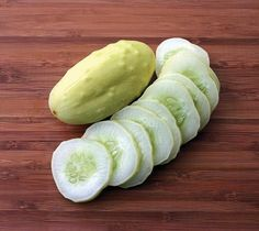 MINIATURE WHITE CUCUMBER **sold out**
