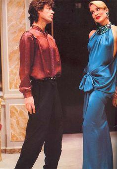 Jerry Hall & Mick Jagger (1983)