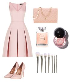 """Nude/pink"" by mintlover123 on Polyvore featuring BCBGMAXAZRIA, Topshop and Chanel"