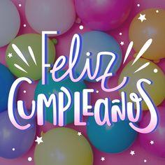 Spanish Birthday Cards, Happy Birthday In Spanish, Happy Birthday Baby, Happy Birthday Quotes, Happy Birthday Images, Wedding Letters, Birthday Posts, Happy B Day, Diy Cards