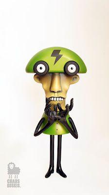 Professor Samuel Boltio by Chauskokis (customized Playsam toy)