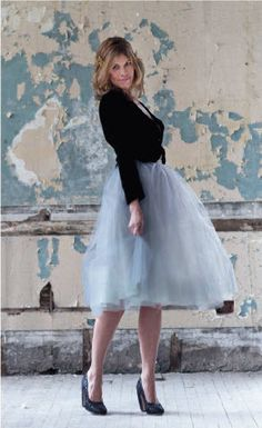 I am into this tulle skirt + sweater look that I keep seeing. But not sure I could pull it off.