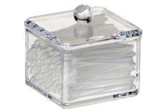 Q tip holder on pinterest soap dispenser mason jar soap for Bathroom q tip holder
