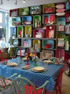 I want my atelier to be colourful ... send joy for the customer