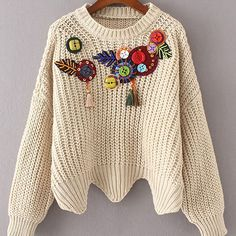 ITEM ID: 030 Buttons & Tassels Sweater £33.40 〰 One Size 〰 Color:Beige Types:Regular Fit Material:Acrylic Sleeve Length:Long Sleeve Bust(inch):51.2inch Length(inch):18.1inch Sleeve Length(inch):28inch 〰 #usa #usfashion #nystreetwear #australia #london #australiafashion #canada #ukstreetwear #ukfashion #italy #italianfashion #spanishfashion #germany  #germanfashion #france #paris #parisian #frenchfashion #belgium #belgianfashion #switzerland #swissfashion #phfashion #philippines…