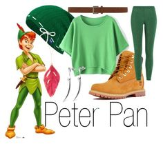 """Peter Pan~ DisneyBound"" by basic-disney ❤ liked on Polyvore featuring Disney, Keds, Aurélie Bidermann, Dorothy Perkins, Timberland, Missoni and Shaun Leane"