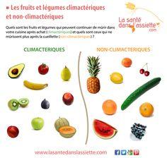 Fruits et légumes climactériques et non-climactériques