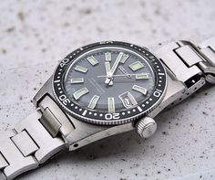 Seiko 62MAS on bracelet