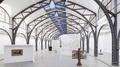 'Mariana Castillo Deball: Parergon.' Installation view at the Hamburger Bahnhof - Museum für Gegenwart Bruns