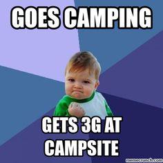 camping memes   Camping May 27 23:00 UTC 2012