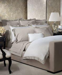 Ralph Lauren Langdon Border Duvet Covers - Duvet Covers - Bed & Bath - Macy's