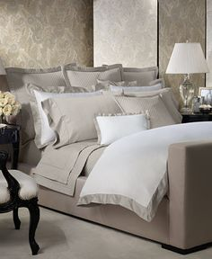 Ralph Lauren Langdon Border Collection - Bedding Collections - Bed & Bath - Macy's