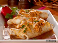 Slow Cooker Chicken Enchiladas from @Budget Savvy Diva - Winning recipe in our Ultimate Weeknight Meal Contest