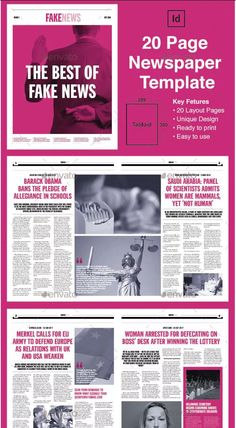 20 Best Weekly Newspaper Illustrations Images