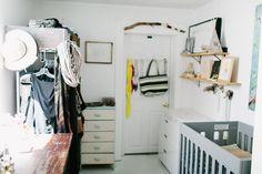 """Ali & Dustin's """"Beach House Getaway"""" in Downtown Denver - Nursery/Dressing Room"""