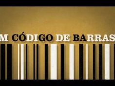 "Hugo Maciel's cool version for the kinetic type interpretation of the ""Código de Barras"" tune performed by Clã, a Portuguese band."
